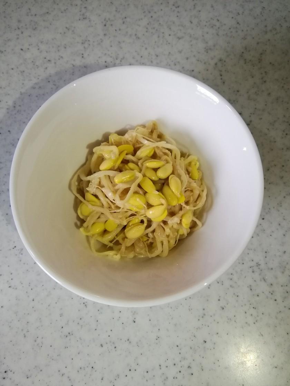 化学調味料不使用 大豆もやしのナムル