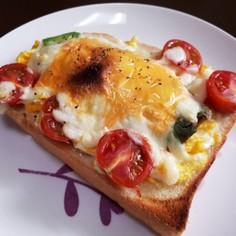 ボリューム満点☆アボカドチーズトースト