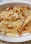ポテトと玉ねぎのチーズ焼き