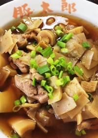 雑な男の料理!竹の子と鶏肉の煮物