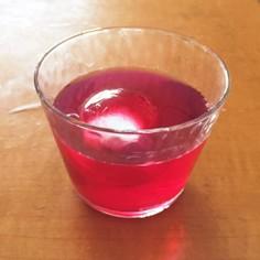 夏にすっきり! 赤紫蘇シロップ