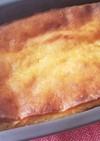 HMとお豆腐で蜂蜜レモンケーキ