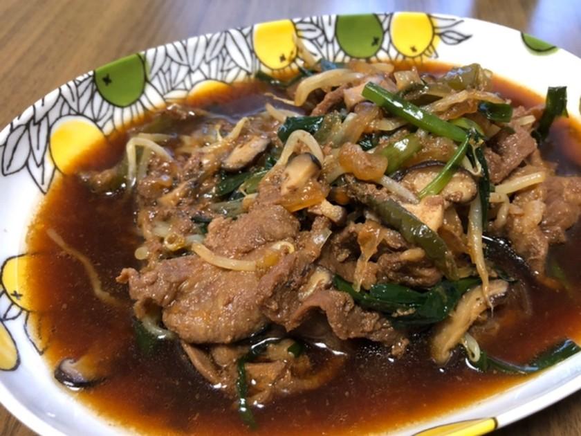 北海道の味!簡単煮込みジンギスカン
