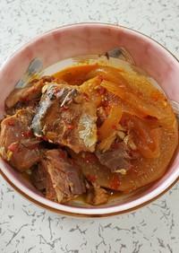 超簡単!韓国風鯖と大根の煮物