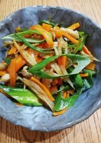 シロさんの中華風豚肉と野菜のきんぴら