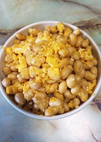 チーズ・卵mixの炒り大豆