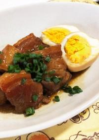 圧力鍋 とろける豚の角煮と煮卵