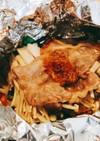 簡単♪野菜と豚肉の醤油麹ホイル焼き