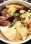 豆腐とすき焼き麩のだし煮