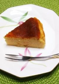 ヨーグルトを使ったバスク風チーズケーキ