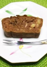 ノンオイル☆ココアバナナヨーグルトケーキ