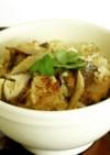 骨の味方!!椎茸とさんまの炊き込みご飯