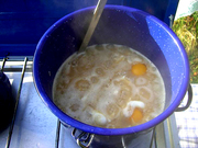 メチャ旨!巣篭もり雑炊~アウトドア編の写真