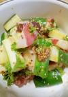 タコと胡瓜の粒胡麻サラダ