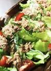 新たまねぎのツナたれサラダ