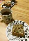 【備忘録】ラムレーズンパウンドケーキ