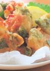 鶏もも肉とレモン+青じそで塩から揚げ