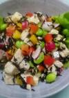 ひじきと豆腐・野菜のサラダ