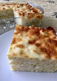マカロニとチーズのグラタン☆トルコ