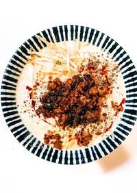 超簡単!サッポロ一番(味噌)で本格担々麺