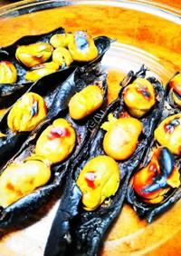 焼き そら豆  (魚焼きグリル編)