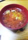 トマトと卵の和風スープ(アレンジ付)