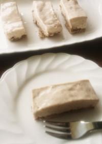 紅茶レアチーズタルト☆卵 砂糖 小麦なし