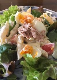 ペンネのサラダ(朝ごはん)