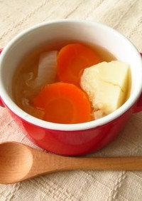 ≪取分け離乳食≫初期から使える野菜スープ