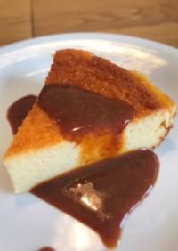 生クリームなし☆ベイクドチーズケーキ