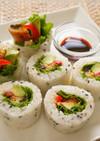 うなぎとアボカドの巻き寿司