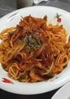 モッチリ麺がおいしいナポリタン