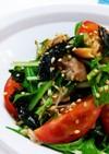 水菜・ツナ・韓国ノリの無限サラダ