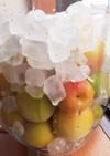 青梅果汁ジュース(氷砂糖漬け)