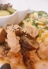 豚肉とナスのポン酢炒め