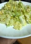 春キャベツと卵のマヨ炒め