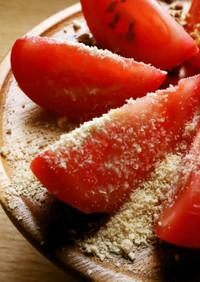 【中華料理】夏向け冷やしトマトの陳皮かけ