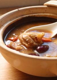 【中華料理】女性大歓迎の薬膳阿膠鶏スープ