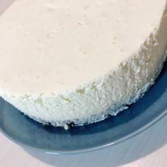 少しヘルシーなレアチーズケーキ