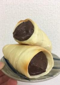 レンジで簡単!チョコカスタードクリーム