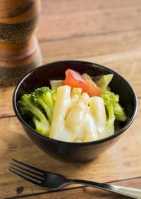 アスパラのサラダ【入院食⑭昼/冷副菜】