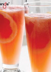 グレープフルーツメロンジュース