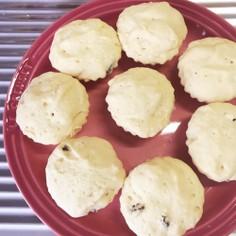 レンジで作るプロテイン蒸しパン