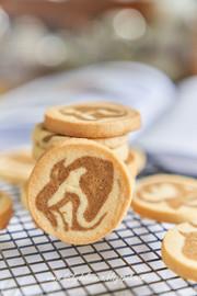 コーヒーマーブルクッキーの写真