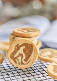 コーヒーマーブルクッキー