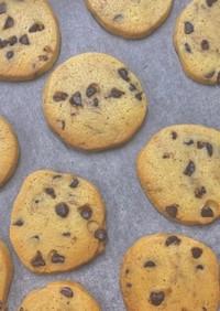 簡単すぎるチョコチップクッキー