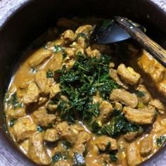 スリランカ風大豆肉のカレー