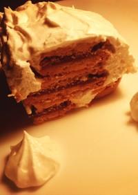 超簡単!3つの材料で作るデザートケーキ