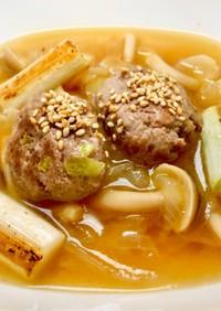 シェフのレシピ★肉団子スープ
