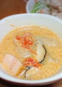 豆乳トマトスープ